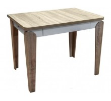 Кухонный раскладной стол Цезарь с ящиком