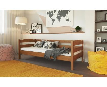Деревянная кровать Милена Лев