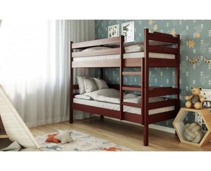 Деревянная двухъярусная кровать Милена-2