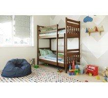 Деревянная двухъярусная кровать Умка