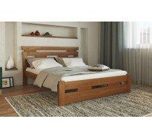 Деревянная кровать Зевс