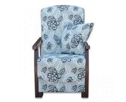Кресло с деревянными подлокотниками Орфей
