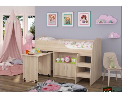 Кровать-чердак КД-07