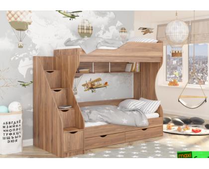 Кровать двухъярусная КД-01