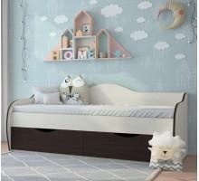 Кровать Оскар с ящиками Континент