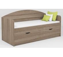 Кровать с ящиками Школьник Континент