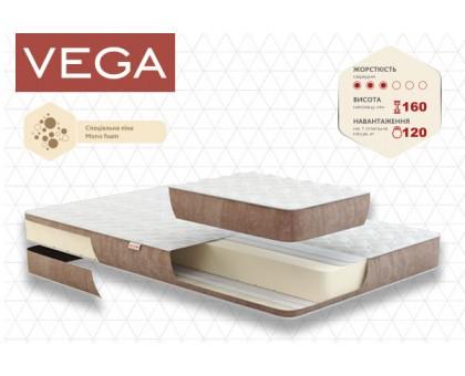Беспружинный ортопедический матрас Vega