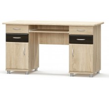 Письменный двухтумбовый стол
