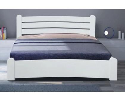 Деревянная кровать Сабрина белая