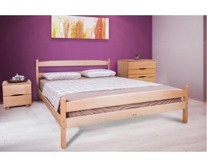 Деревянная кровать Ликерия с изножьем