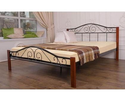 Металлическая кровать Респект Вуд