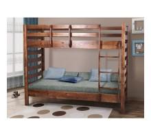 Деревянная 2-х ярусная кровать Троя