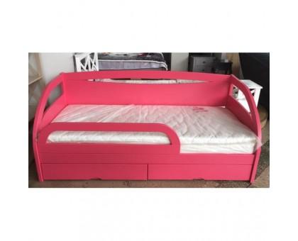 Деревянная односпальная кровать Милена-kids