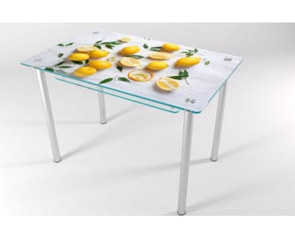 Кухонный стеклянный стол КТ-7