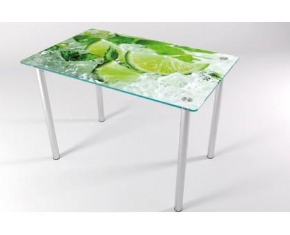 Кухонный стеклянный стол КТ-8