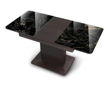 Кухонный раскладной стеклянный стол Бостон Т/Boston Т