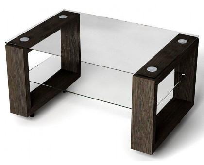 Журнальный стеклянный стол Flat
