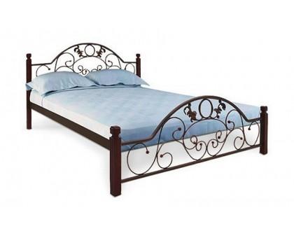 Кровать Франческа на деревянных ножках