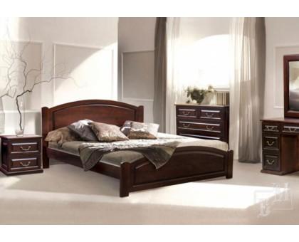 Деревянная кровать Ассоль-2