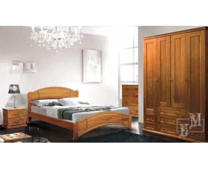 Деревянная кровать Ассоль