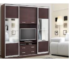 Шкаф с ТВ тумбой с раздвижными дверями