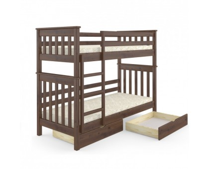 Кровать двухъярусная Скандинавия Мини 80 Мебигранд