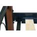 Металлическая кровать Астра Вуд