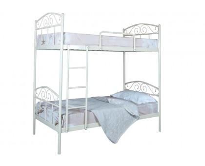 Двухъярусная металлическая кровать Элис Люкс
