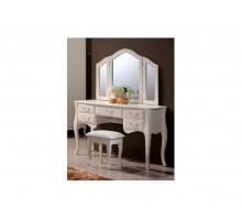 Будуарный столик Богемия, зеркало и пуф