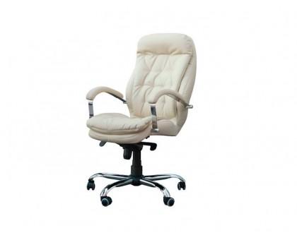 Компьютерное кресло Венеция хром