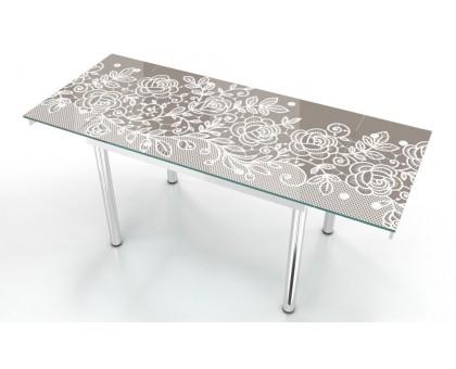 Кухонный раскладной стеклянный стол Макси/Maxi