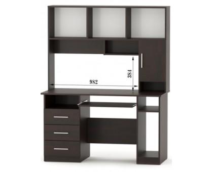 Компьютерный стол СПК-03 с надставкой Н-13