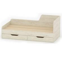 Односпальная кровать-08 с ящиками РТВ