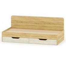 Односпальная кровать-09 с ящиками РТВ